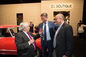 DS Week: Robert Opron (Designer), Stephan Lützenkirchen (Citroën), Stephan Joest (Amicale)