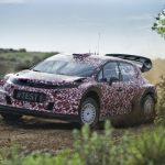 Citroën Racing absolviert ersten Test mit dem World Rally Car für 2017