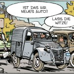 "Citroën-Comics Autogrammstunde: Jean-Luc Delvaux, Ehrengast der ""Citroën-Straße"", Technoclassica 2016"