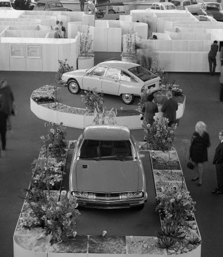 Salon de l'Auto 1970