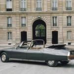 Staatsbesuch auf der TechnoClassica: Der Citroën SM des Elysée-Palastes gibt sich die Ehre