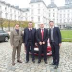Thomas Albrecht (Citroën), Ulrich Brenken (ACC), Stephan Joest (ACI), Stephan Lützenkirchen (Citroën)