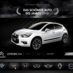 Der Citroën DS4? Jetzt das schönste Auto des Jahres 2010 wählen!