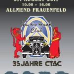 19.-21.8.2011: 35 Jahre Citroën Traction Avant Club Schweiz