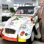 """Charity-Auktion: """"Super-Ente"""" der CITROËN Niederlassung Frankfurt"""