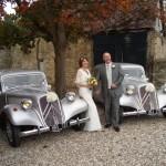 Citroën Traction Avant - quasi-royales Hochzeitsauto