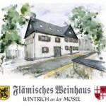 2. flämisches Citroën Weinhaus-Treffen in Wintrich/Mosel