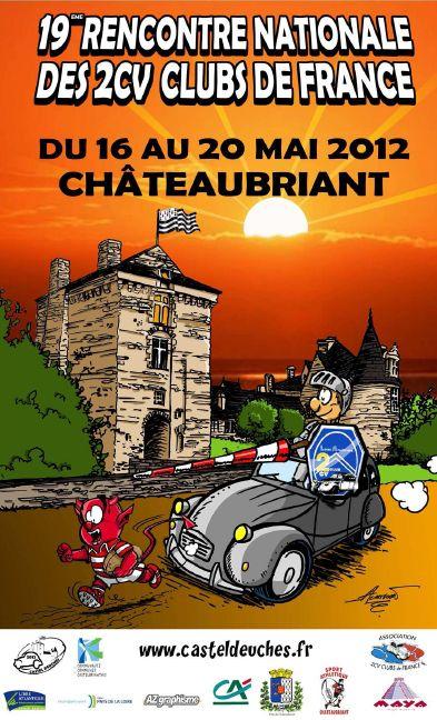 Rencontre 2cv chateaubriant