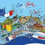 Düsseldorf: Große Kirmes und Frankreichfest mit Oldtimer-Rallye, 13.-15. Juli 2012