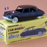 Das De Gaulle Attentat von Petit Clamart 1962 - der DS19 als Modell von St. Hubert 92