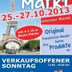 """""""Bonjour et bon appétit en Erkelenz - Le Marché Francais"""" 25.-27.10.2013"""