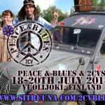 Peace & Blues & 2CV: 18.-20. Juli 2014 @ Vuolijoki, Finnland