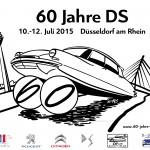 """60 Jahre DS: das Jubiläum der """"Göttin"""" in Düsseldorf, 10.-12. Juli 2015"""