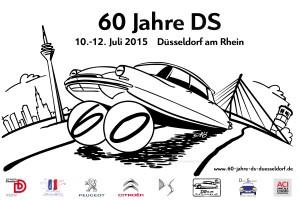 """Logo """"60 Jahre DS Düsseldorf"""""""