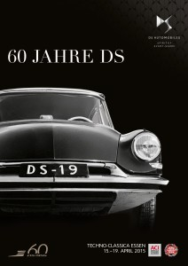 """Poster """"60 Jahre DS in Düsseldorf"""""""