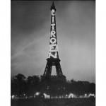 90 Jahre Citroën Leuchtreklame auf dem Eiffelturm