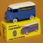 "Neues Modellauto - Citroën Type H ""Lufthansa"""