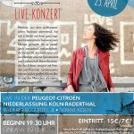 KÖLN:  Live-Konzert in der Peugeot-Citroen Niederlassung Köln-Raderthal