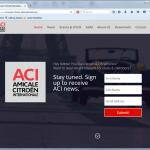 Neue ACI Homepage