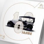 100 Jahre Citroën: Broschüre zum Start der Rétromobile
