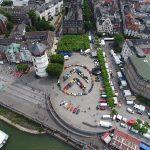 """Citroën präsentiert überdimensionalen """"Doppelwinkel"""" in Düsseldorf"""